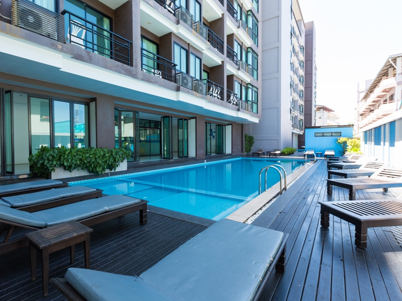 The Vogue Pattaya Hotel : Swimming Pool